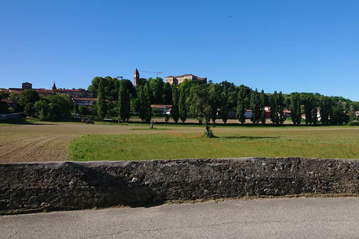 Rivoli, veduta del Castello dalla tenuta Antonielli